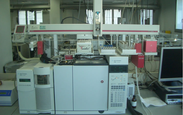 Análisis cromatografía de gases