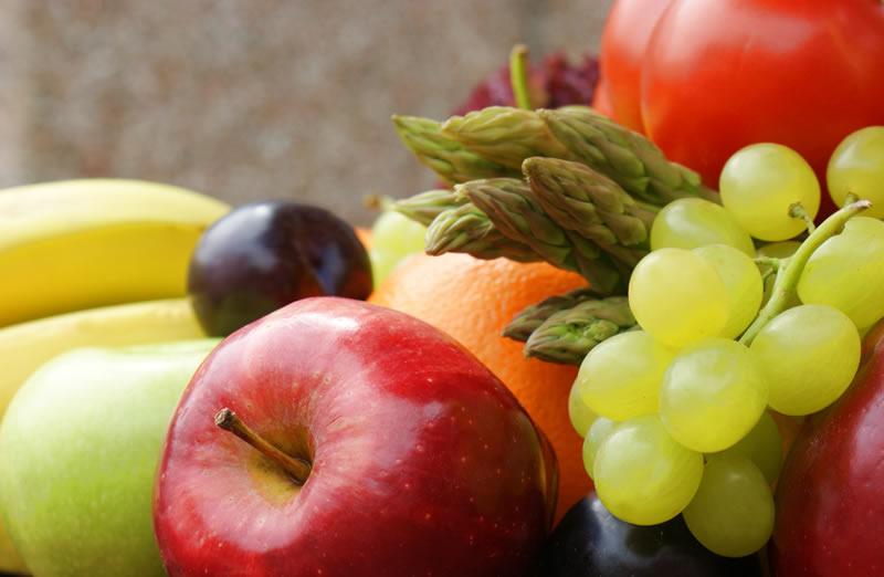 Frutas y hortalizas. Análisis