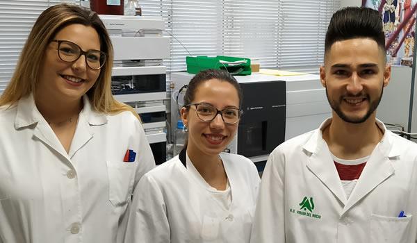Alumnos en prácticas en nuestras instalaciones de Sevilla